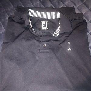 Footjoy golf shirt
